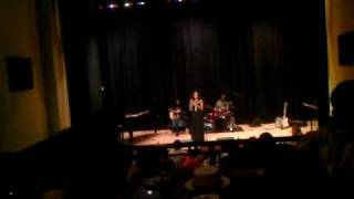 "FELICIA BOSWELL singing ""Saving All My Love"" in Philadelphia"