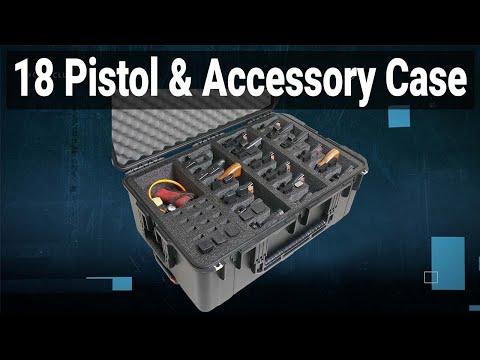 18 Pistol & Accessory Case - Video