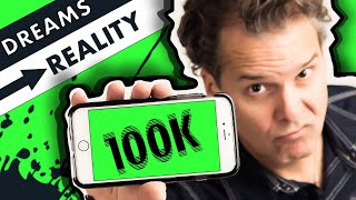 100,000 Subscribers On YouTube? YouTube Motivation