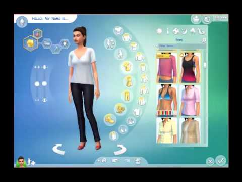 The Sims 4 - Creating Your Sim to start playing