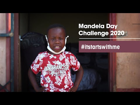 youtube video image mandela day challenge 2020 #itstartswithme