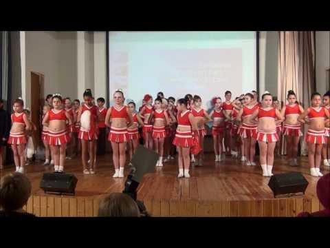 Новогодний концерт танцевально-спортивного клуба  «DANCE WAY»