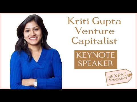 Raising funds in Bangalore - keynote by VC Kriti Gupta