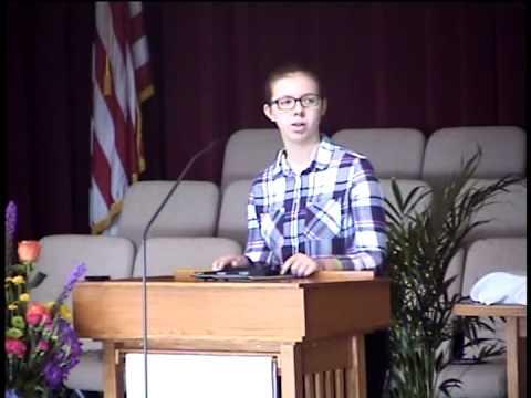 Morton United Methodist Church - 05.01.2015 Taylor VanEtten