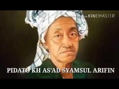 CERAMAH LUAR BIASA K.H. AS 'AD SYAMSUL ARIFIN