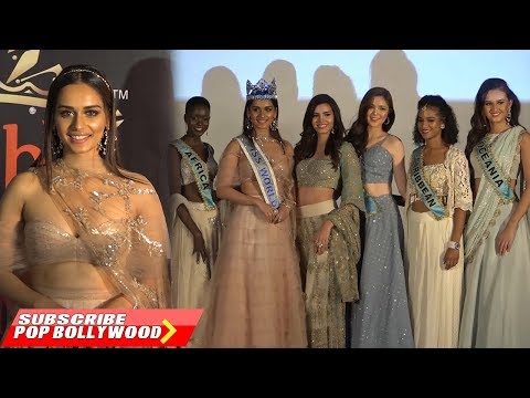 Manushi Chhillar & 6 Continental Queens | Beauty with a Purpose Project | Watch Video
