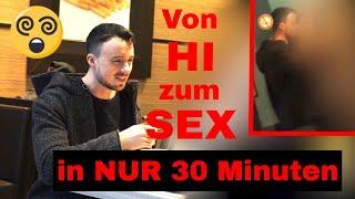 Profi-Verführer: Junge fremde Frau in 30 Min zum Sex verführt - PICK UP ARTIST INFIELD