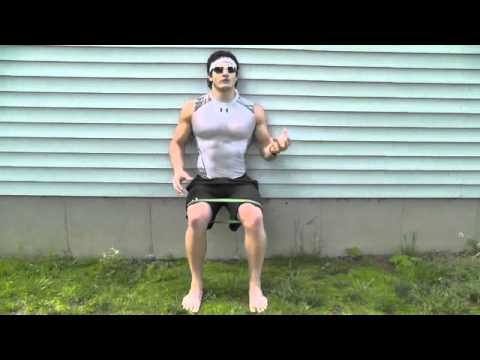 Lean and Ripped Legs Exercises (Outdoor Band Workout