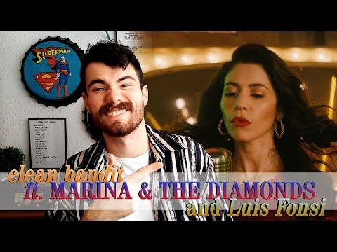 Lagu Video Baby - Clean Bandit Ft. Marina And The Diamonds & Luis Fonsi | Reaction / ReacciÓn | Mr.george Terbaru