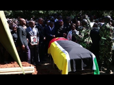 Mozambique ex-rebel leader Dhlakama laid to rest