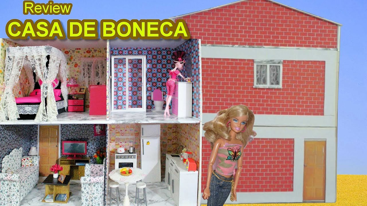 Casa de boneca para barbie monster high frozen ever - Casa de barbie ...