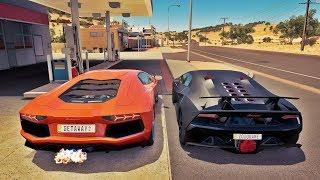 Forza Horizon 3 - Lamborghini Sesto Elemento V12 BiTurbo VS Lamborghini Aventador V12 BiTurbo