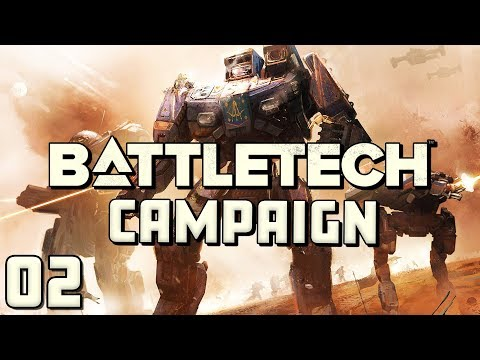 Battletech Campaign Gameplay - Part 2 - The Leopard