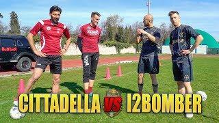 I2BOMBER VS CITTADELLA - Sfidiamo il CAPITANO e il PORTIERE | Red Bull B-Best CHALLENGE