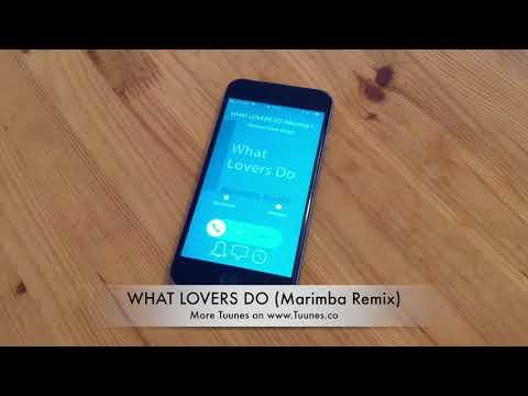 WHAT LOVERS DO Ringtone - Maroon 5 feat. SZA Marimba Remix Ringtone - [Download]