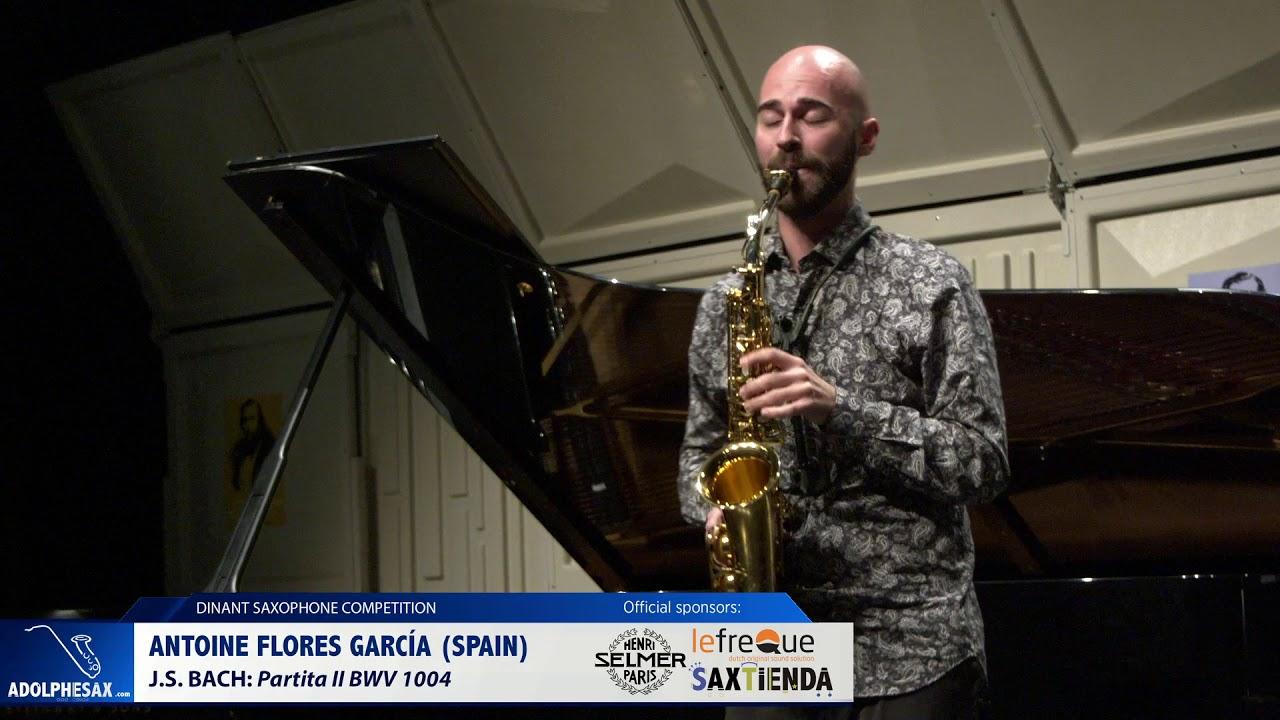 Antoine Flores Gracia (Spain) - Partita II by J.S.Bach (Dinant 2019)