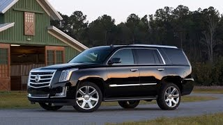 2016 Cadillac Escalade Start Up and Review 6.2 L V8