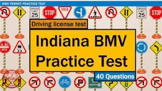 Driving license test: Indiana BMV Practice Test