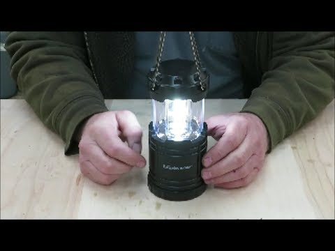 harbor freight camping light