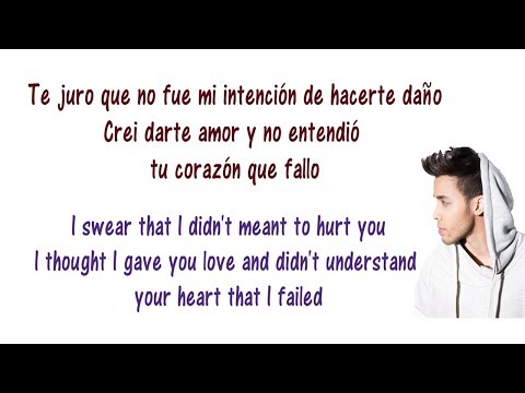 Te Me Vas - Prince Royce - Lyrics English and Spanish - Translation & Meaning - Letras en ingles