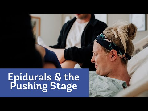 Pain Management Series: Effects of Epidurals on the Second Stage of Labor