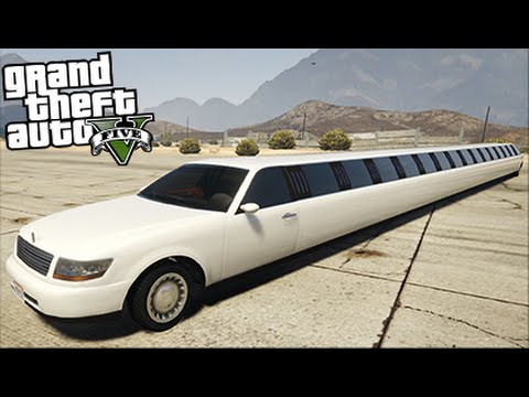 longest car in the world mod gta 5 funny moments youtube. Black Bedroom Furniture Sets. Home Design Ideas