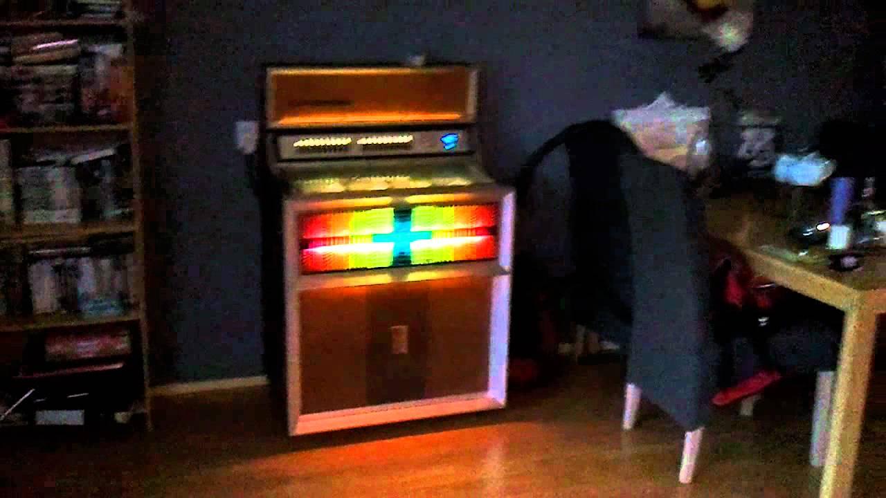 seeburg se 100 goldenjet youtube. Black Bedroom Furniture Sets. Home Design Ideas