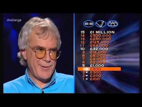 Series 5 Who Wants to be a Millionaire 15th November 1999 Lance Jones Final Part v2