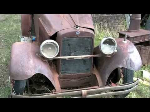ERSKINE Rumble Seat Roadster- Only one known!
