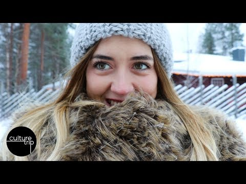A Trip To Rovaniemi, Lapland - Home Of Santa Claus! | Vlog Day 1