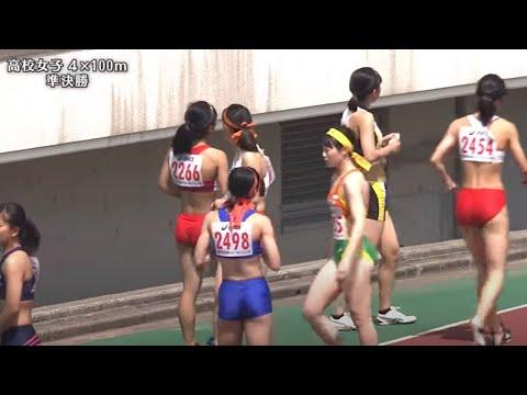 第67回兵庫リレーカーニバル 高校女子4x100m 準決勝