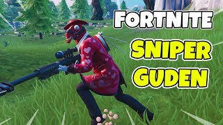 NEW UPDATE & NEW LAMA-SKIN in FORTNITE * SNIPER KING * Fortnite in English