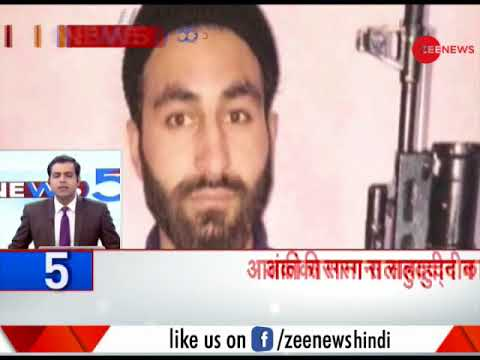 Headlines: Security forces in J&K siege AMU student Mannan Wani who joined Hizbul Mujahideen