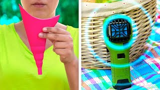28 CLEVER CAMPING ha¢ks and tips for your next trip || camping gadgets, surviving ideas