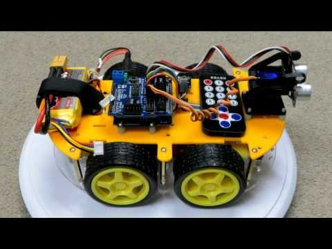 Mecanum Wheel Robot - Bluetooth Controlled - Pinterest