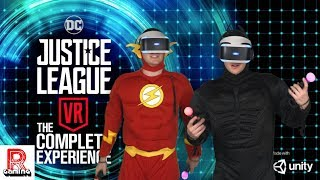 Time to Try Out The Flash and Batman in Justice League VR