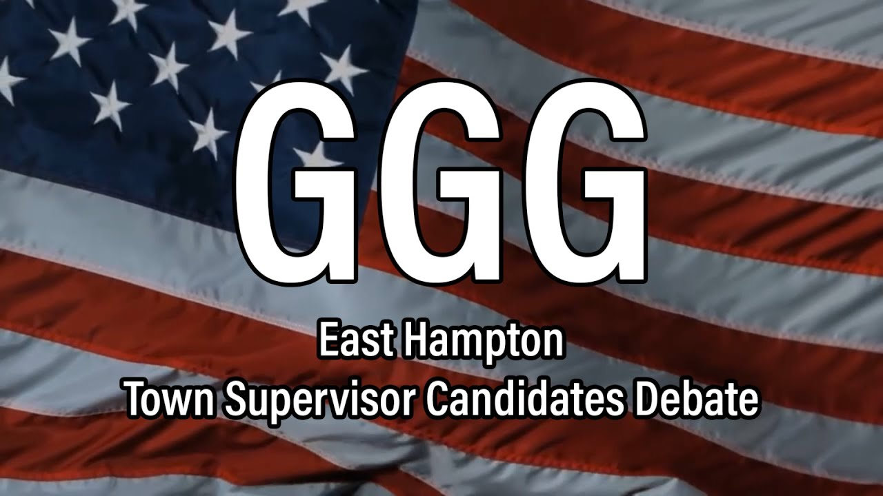 GGG - Town Supervisor Candidates Debate