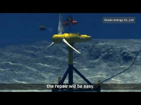 Ocean Current Power Generation And Tidal Power Generation