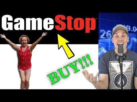 Let's All Buy GameStop Stock!!! - 10% Dividend Yield!!!