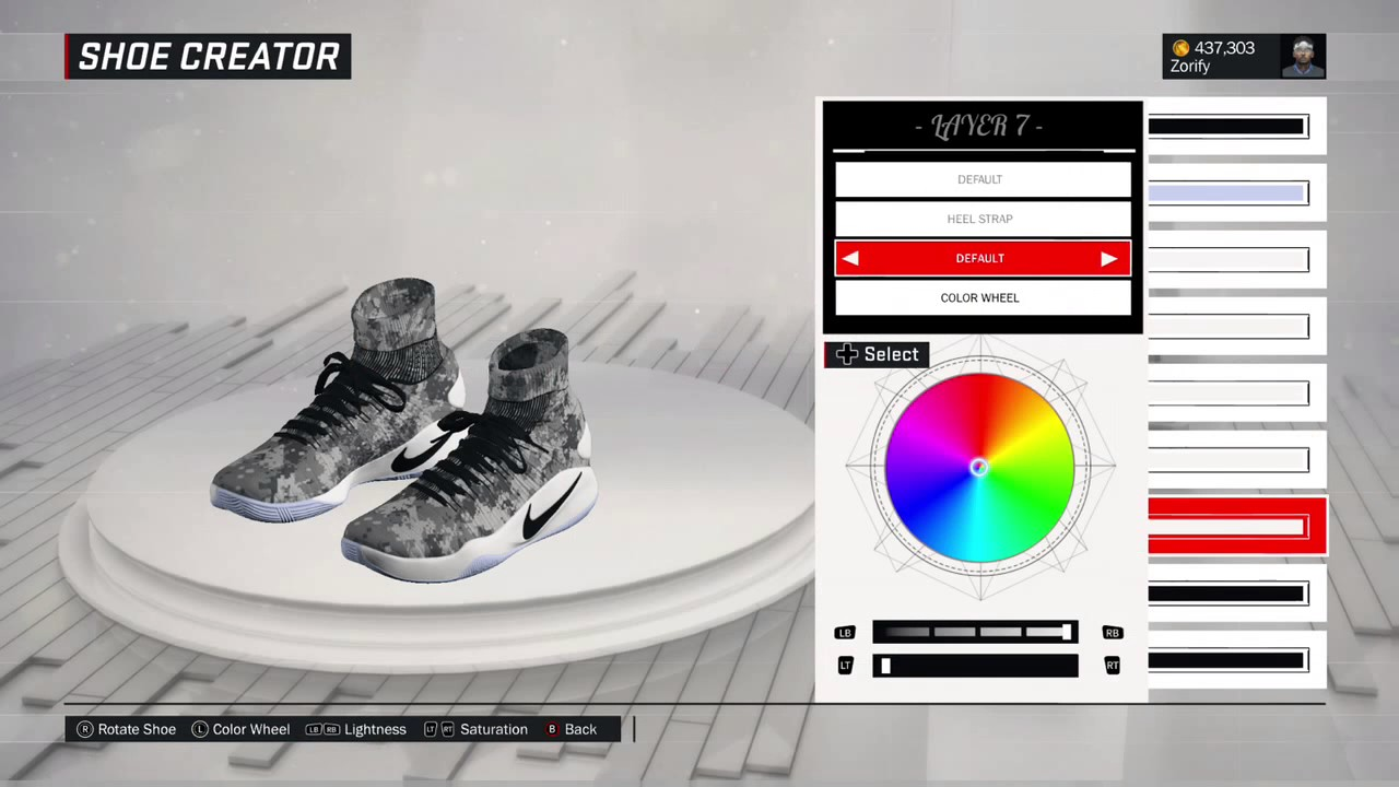new product 9cdf6 ff03b NBA 2K17 Shoe Creator - Nike Hyperdunk 2016 Elite
