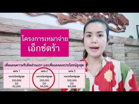 ประกันสุขภาพราคาไม่แพง โครงการเหมาจ่ายเอ็กซ์ตร้า เมืองไทยประกันชีวิต
