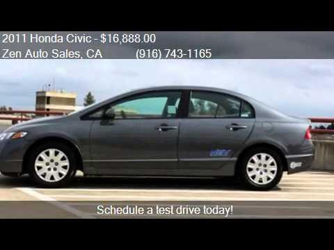 2011 Honda Civic GX CNG NGV NAVIGATION CARPOOL for sale in S