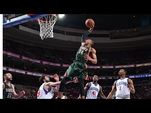 Giannis Antetokounmpo\'s Top 34 Most FREAKISH Plays!
