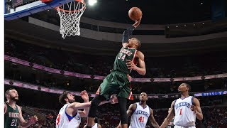 Download Giannis Antetokounmpo's Top 34 Most FREAKISH Plays! Mp3 and Videos