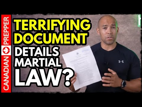 A Terrifying Document Details What Will Happen If...