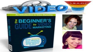 Beginners Guide To Video Marketing, Video Marketing For Beginners, Jane Orlov, Kimra Luna