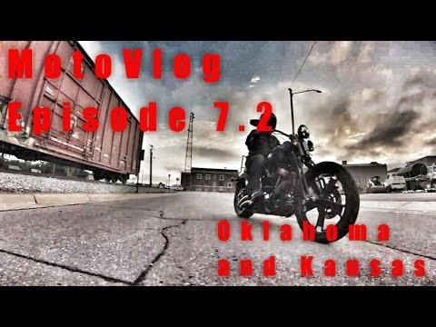 Oklahoma and Kansas - MotoVlog Episode 7.2