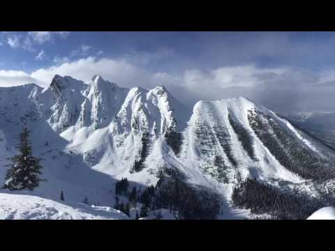 Back country Kicking Horse février 2017