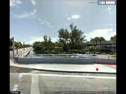 Drive by history-  Collins canal-The canal that made Miami Beach
