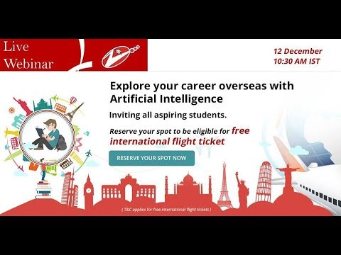 Explore your career overseas with Artificial Intelligence - Career scope and international education